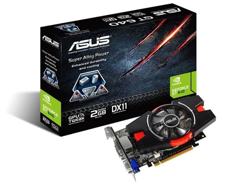 Asus GT640-2GD3 (GT640-2GD3) - Achat / Vente Carte Graphique sur Cybertek.fr - 0