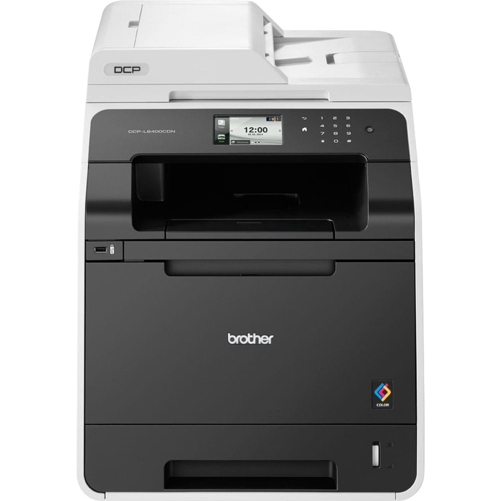 Brother DCP-L8400CDN (Laser Couleur/Réseau) (DCPL8400CDNRF1) - Achat / Vente Imprimante Multifonction sur Cybertek.fr - 0