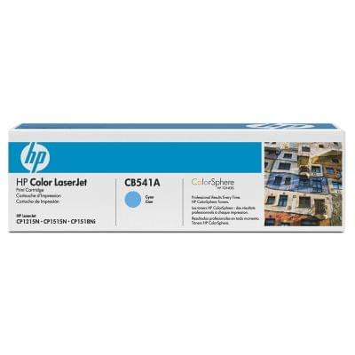 Consommable imprimante HP Toner Cyan 1400p - CB541A