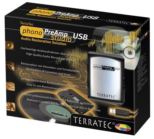 Terratec Phono Preamp Studio USB - Carte son Terratec - 0