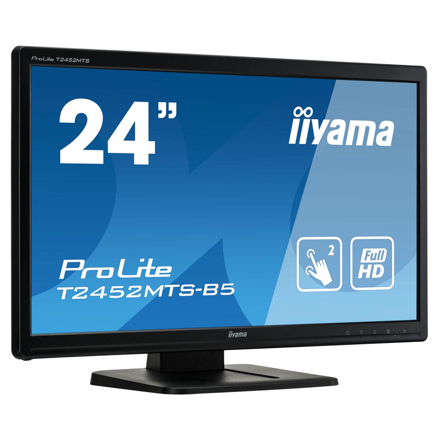 """Iiyama 24""""  T2452MTS-B5 - Ecran PC Iiyama - Cybertek.fr - 4"""