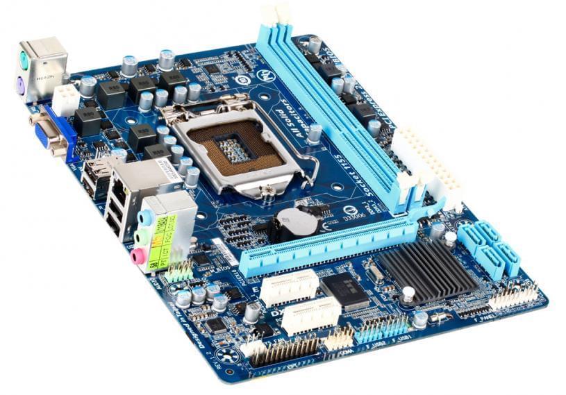 Gigabyte H61M-DS2 Micro-ATX DDR3 - Carte mère Gigabyte - 0