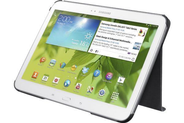"Samsung Book Cover Galaxy Tab 3 10.1"" Black (EF-BP520BBEGWW) - Achat / Vente Accessoire tablette sur Cybertek.fr - 0"