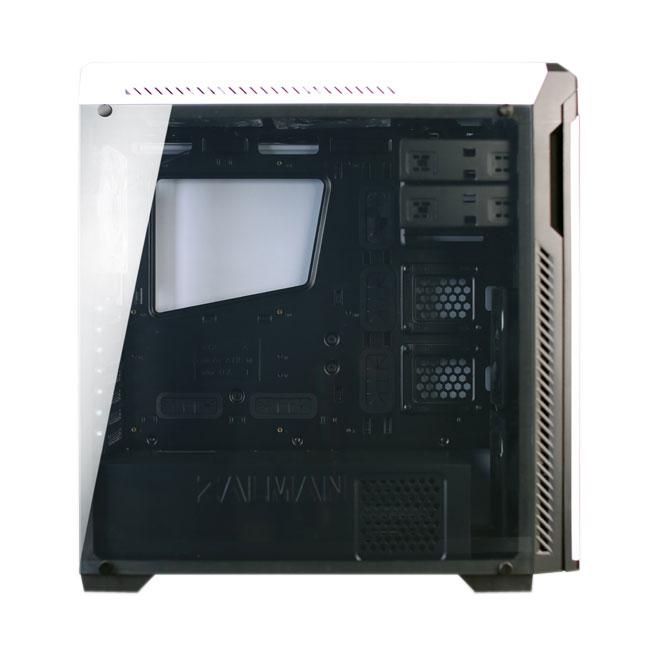 Zalman MT/Sans Alim/ATX Blanc - Boîtier PC Zalman - Cybertek.fr - 3