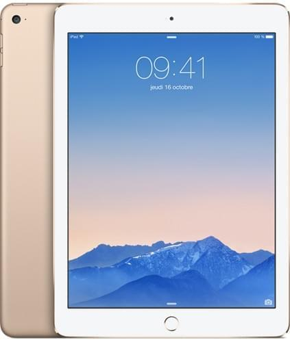 Apple iPad Air 2 Wi-Fi 16Go Or (3A141NF/A) - Achat / Vente Tablette Tactile sur Cybertek.fr - 0