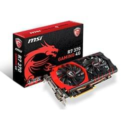 MSI Carte Graphique R7 370 GAMING 4G - R7-370/4Go/HDMI/DP/2xDVI Cybertek