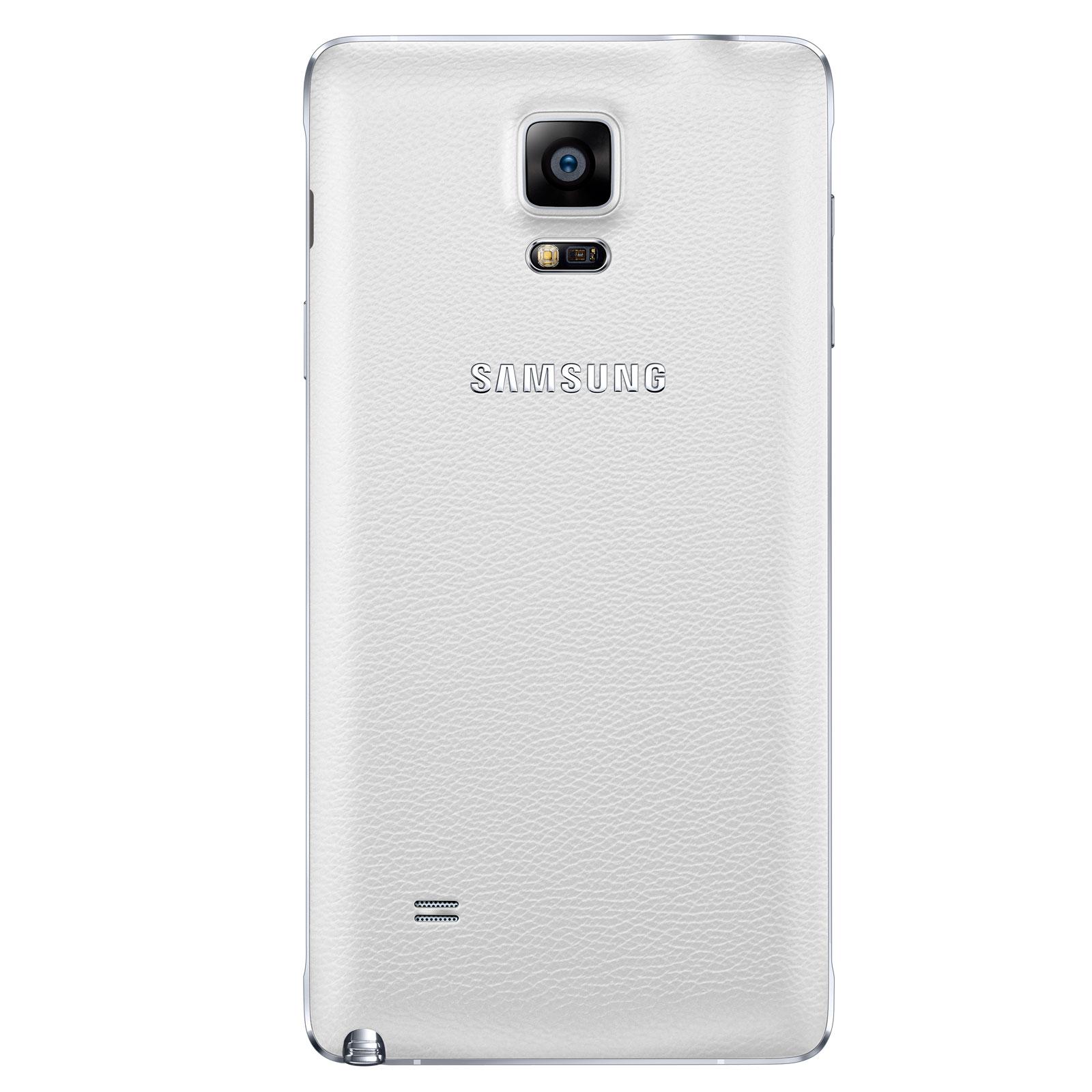 Samsung Galaxy Note 4 N910F 32Go White (SM-N910FZWEXEF) - Achat / Vente Téléphonie sur Cybertek.fr - 4