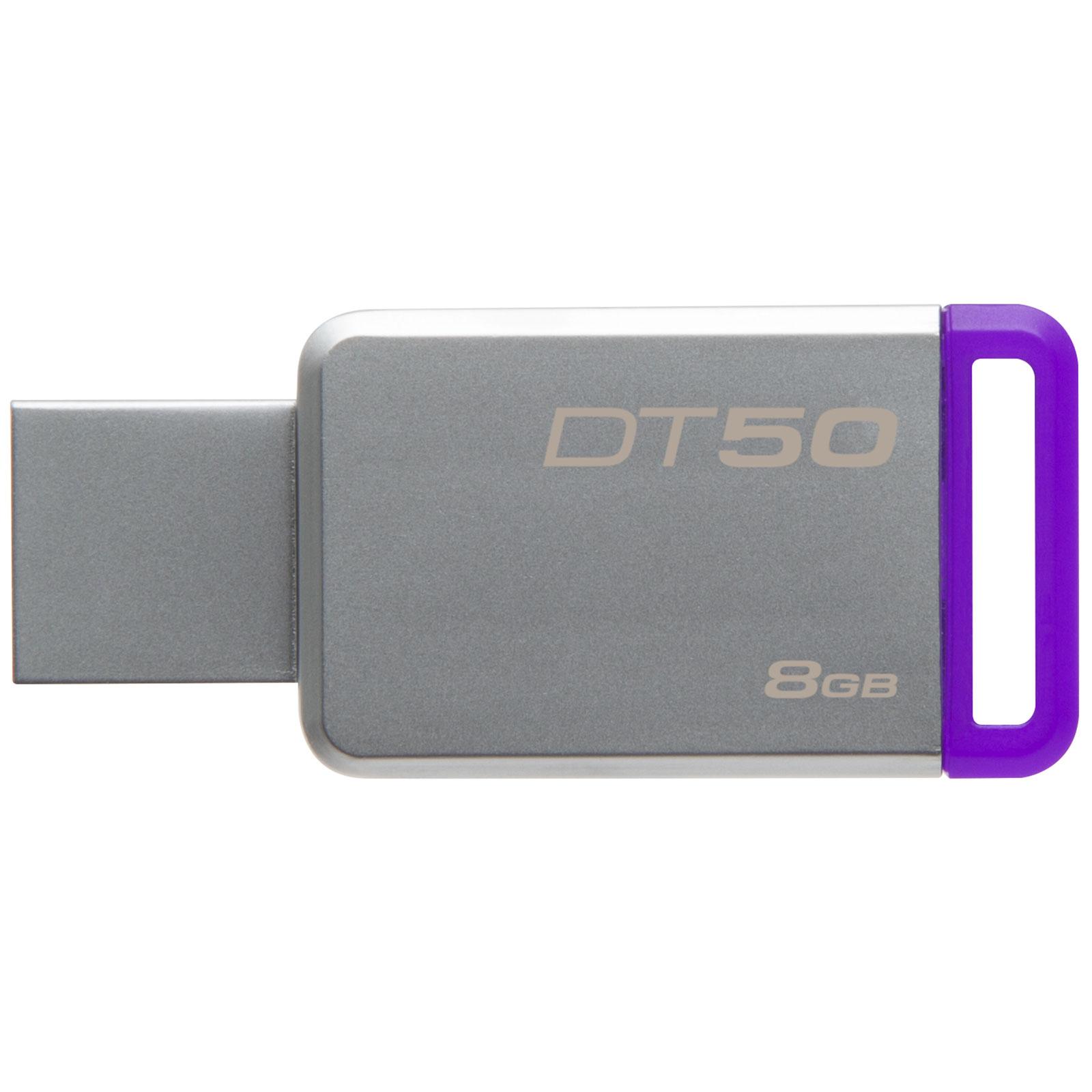 Kingston DataTraveler 50 8Go USB 3.1 (DT50/8GB) - Achat / Vente Clé USB sur Cybertek.fr - 1