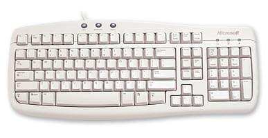 Clavier PC Microsoft Basic Keyboard OEM - 0