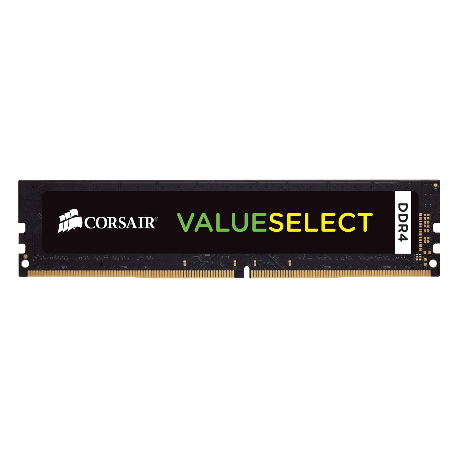 Corsair Value Select CMV4GX4M1A2133C15 (CMV4GX4M1A2133C15) - Achat / Vente Mémoire PC sur Cybertek.fr - 0
