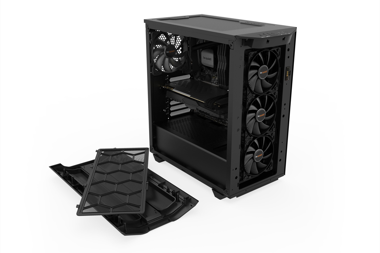 Be Quiet! Pure Base 500DX Black BGW37 Noir - Boîtier PC Be Quiet! - 1