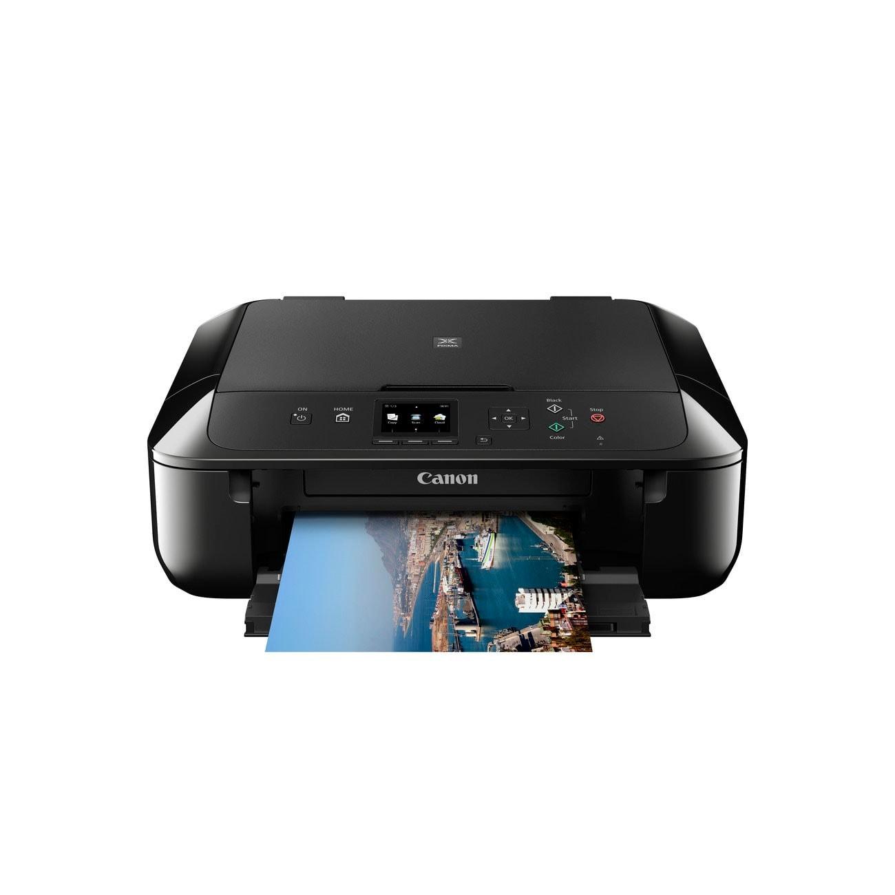Canon PIXMA MG5750 Noire (0557C006) - Achat / Vente Imprimante Multifonction sur Cybertek.fr - 3