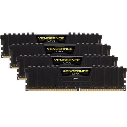 Corsair CMK16GX4M4A2800C16 (4x4Go DDR4 2800 PC22400) (CMK16GX4M4A2800C16 soldé) - Achat / Vente Mémoire PC sur Cybertek.fr - 0