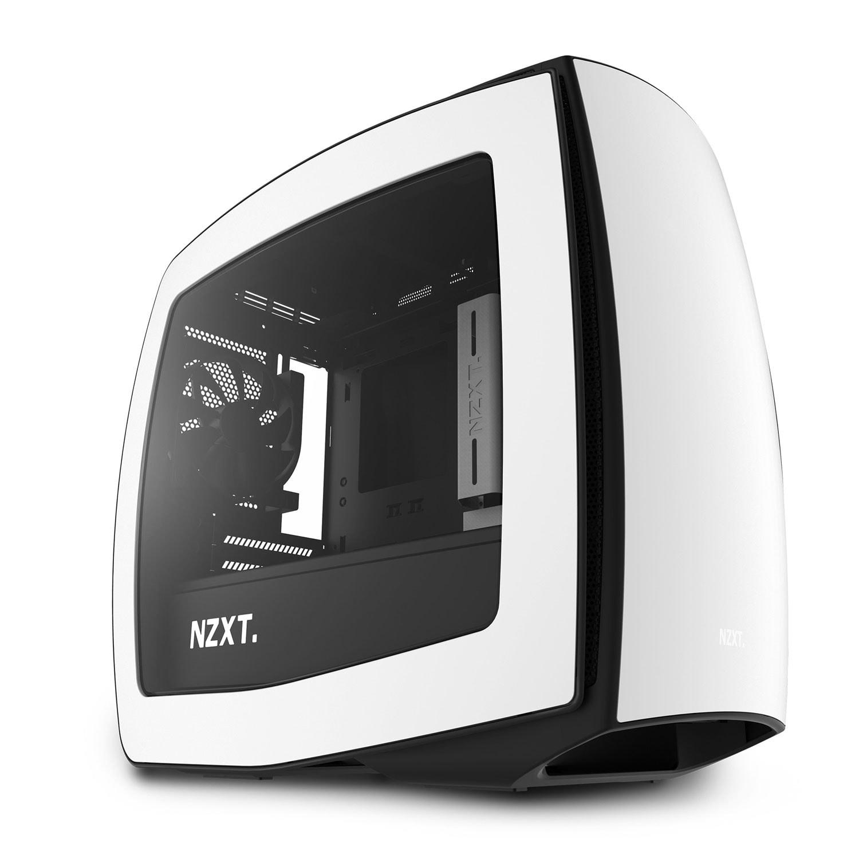 NZXT Manta Blanc Fenêtre Blanc - Boîtier PC NZXT - Cybertek.fr - 0
