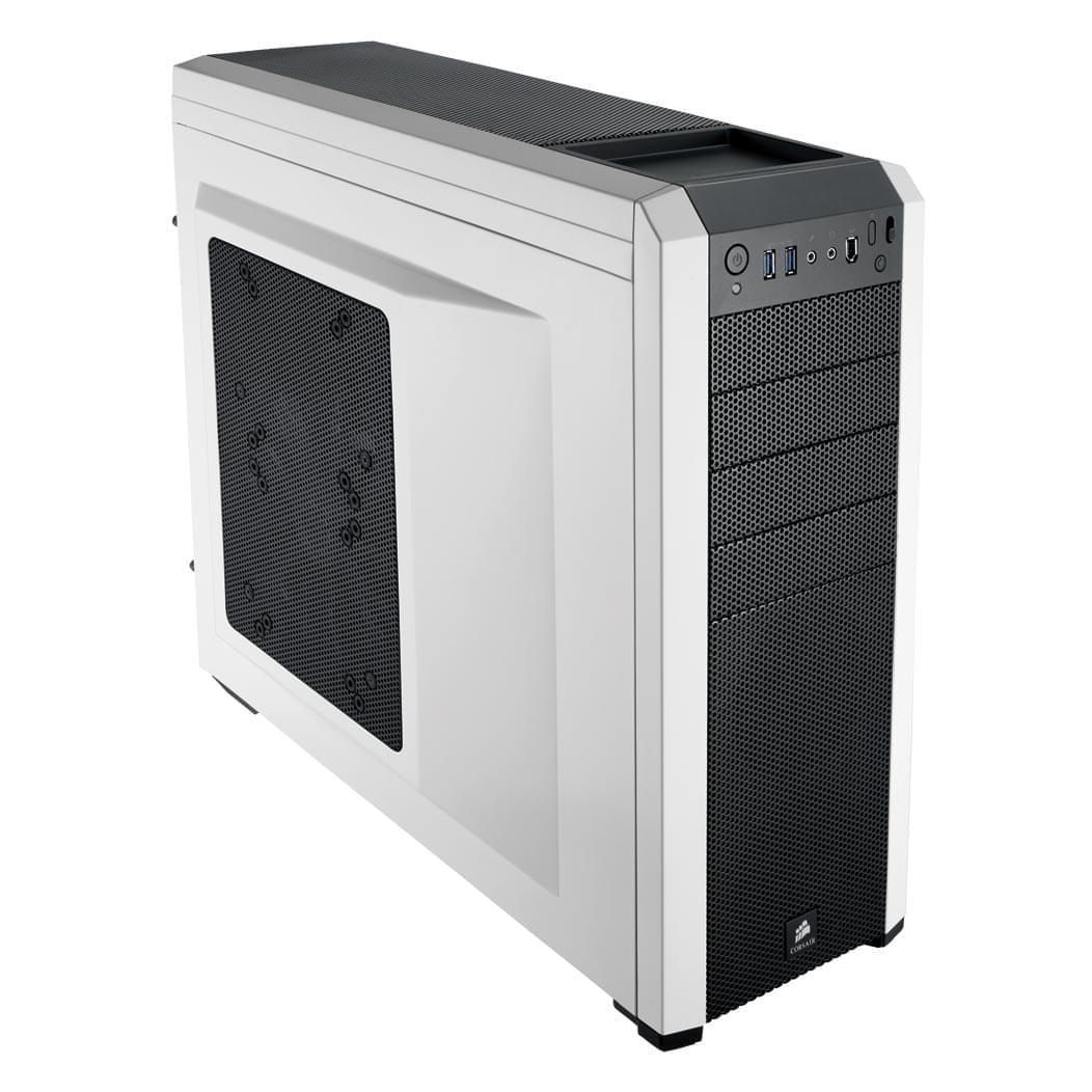 Corsair Carbide 500R Blanc - Boîtier PC Acier - Sans Alim - 0