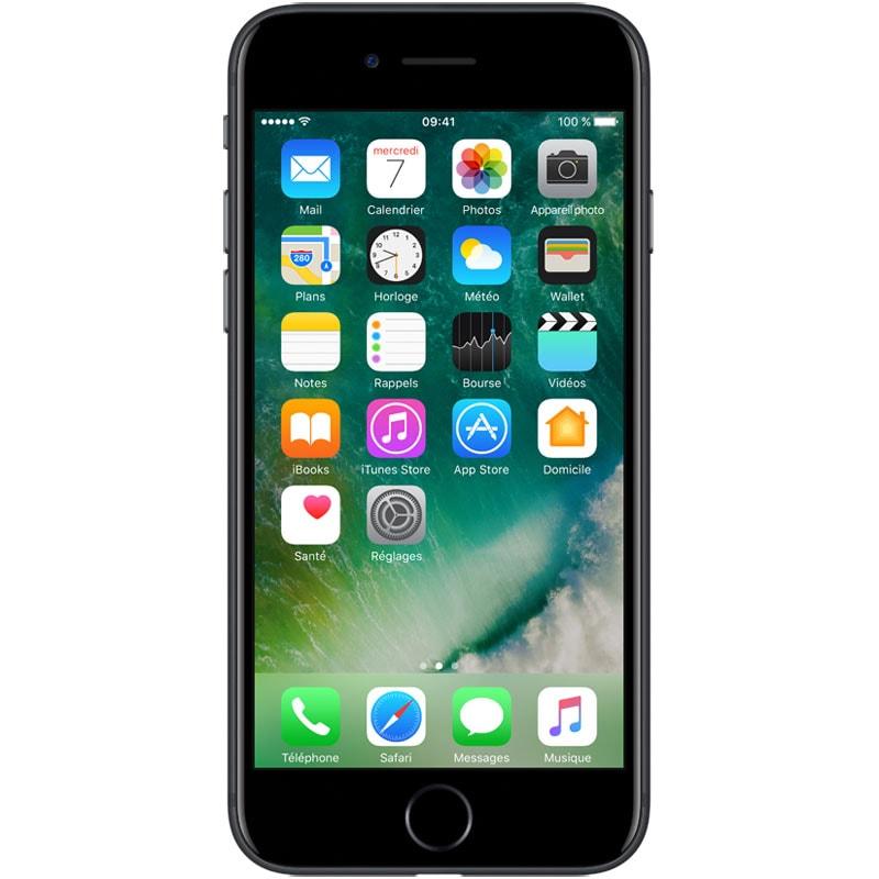 Apple iPhone 7 128Go Noir - Téléphonie Apple - Cybertek.fr - 0
