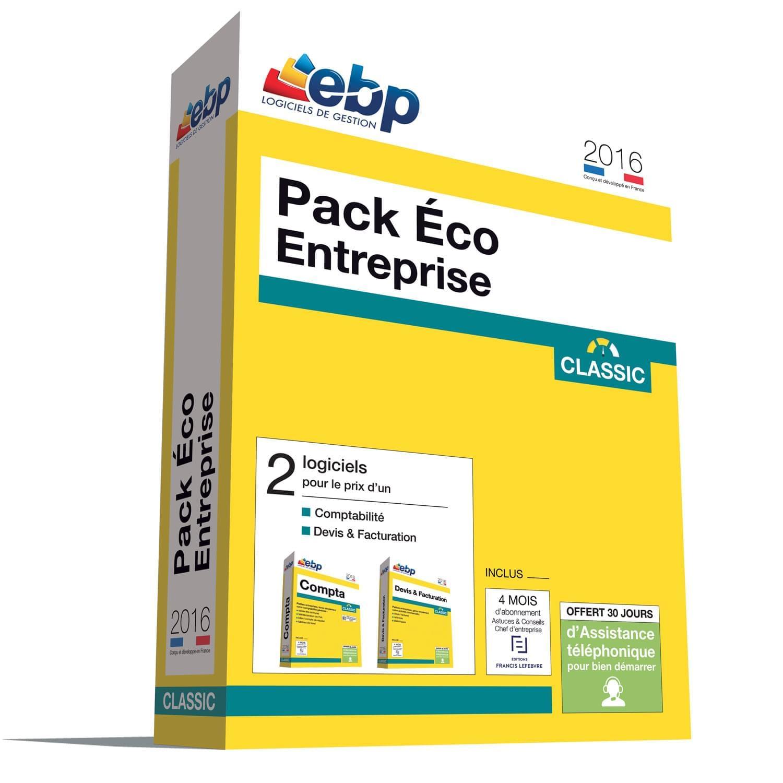EBP Pack Eco Entreprise Classic 2016 (1166J080FAA) - Achat / Vente Logiciel Application sur Cybertek.fr - 0