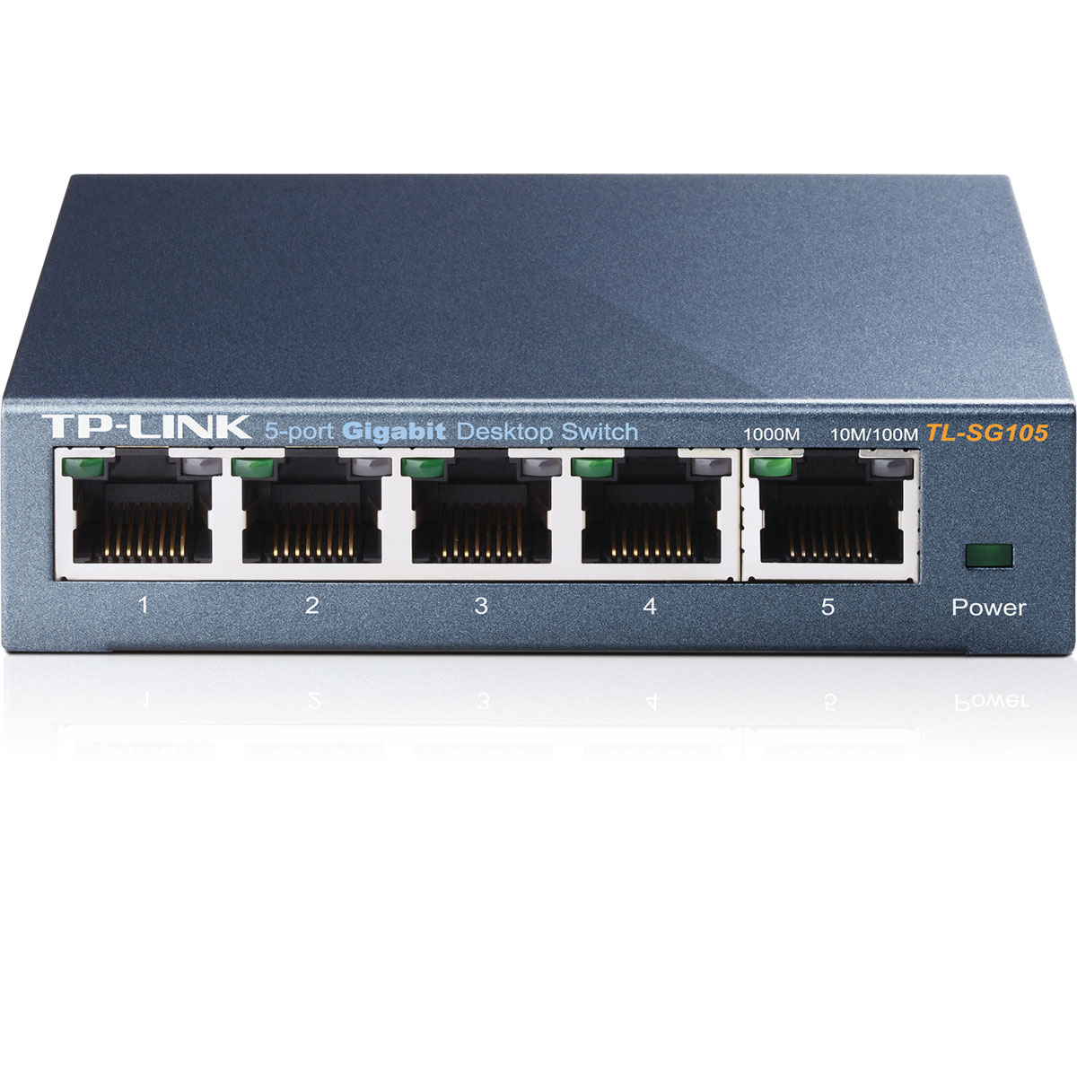 Switch TP-Link 5 ports 10/100/1000 - TL-SG105 - Cybertek.fr - 0
