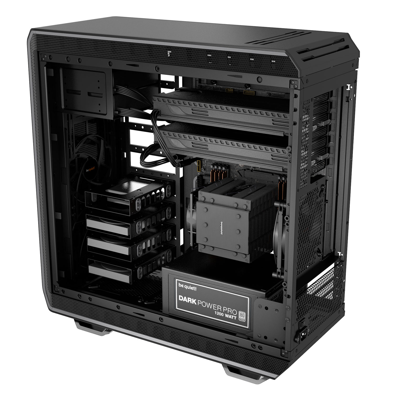 Be Quiet! GT/Sans Alim/E-ATX Noir - Boîtier PC Be Quiet! - 1