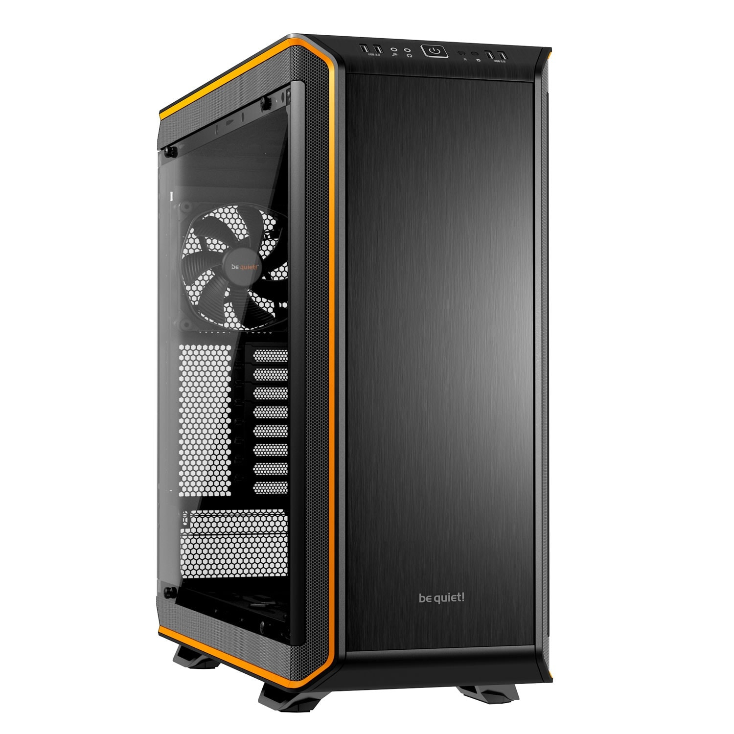 Be Quiet! Dark Base Pro 900 Orange - Boîtier PC Plexiglas - Sans Alim - 0