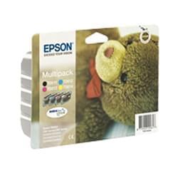 Multipack 4 couleurs série T0615 pour imprimante Jet d'encre Epson - 0