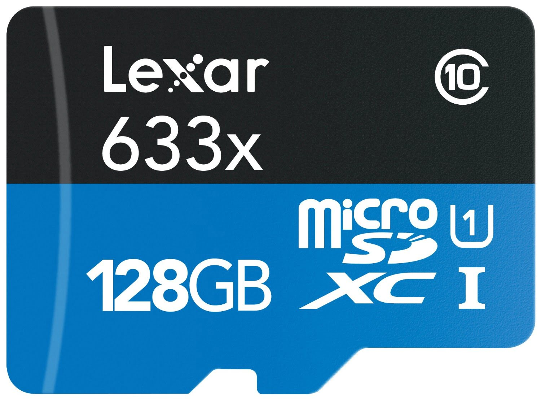 Lexar Micro SDXC 128Go c10 633x +Adapt. LSDMI128BBEU633A (LSDMI128BBEU633A) - Achat / Vente Carte mémoire sur Cybertek.fr - 0