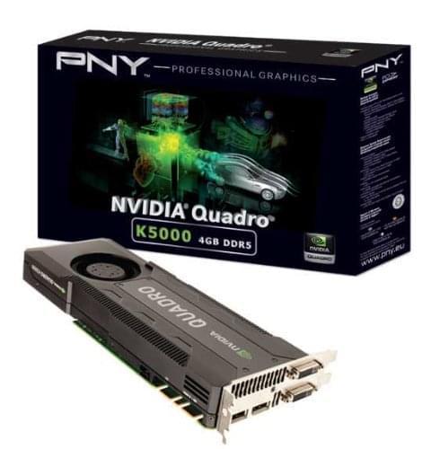 NVidia Quadro K5000 4Go - Carte graphique NVidia - Cybertek.fr - 0