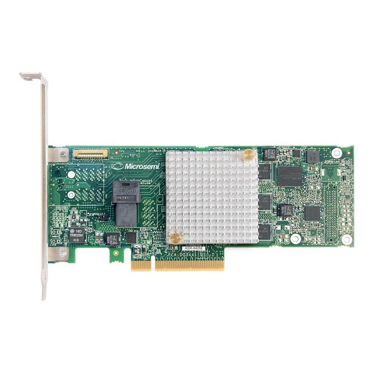 RAID SAS 8405E - Carte contrôleur Adaptec - Cybertek.fr - 0