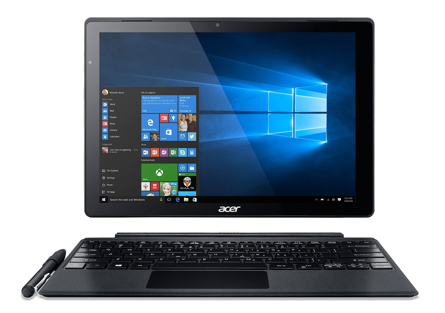 Acer Switch 12 SA5-271-54AT (NT.LCDEF.001) - Achat / Vente Tablette tactile sur Cybertek.fr - 0
