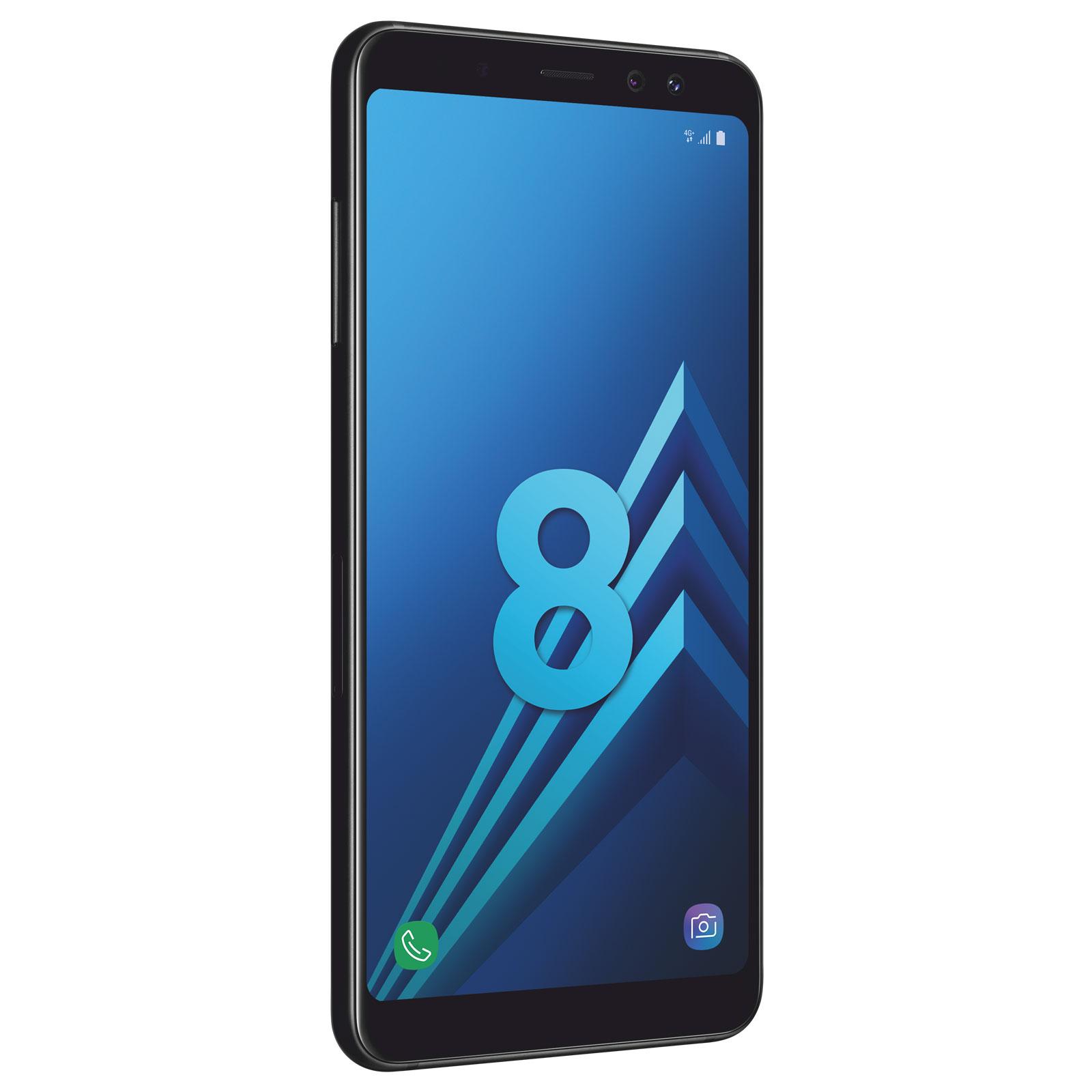 Samsung Galaxy A8 A530 32Go Noir Dual Sim (SM-A530FZKDXEF) - Achat / Vente Téléphonie sur Cybertek.fr - 4