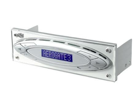 Cooler Master Panneau frontal AeroGate 3 LCD Temp. control (ALD-V03) - Achat / Vente Accessoire Refroidissement PC sur Cybertek.fr - 0