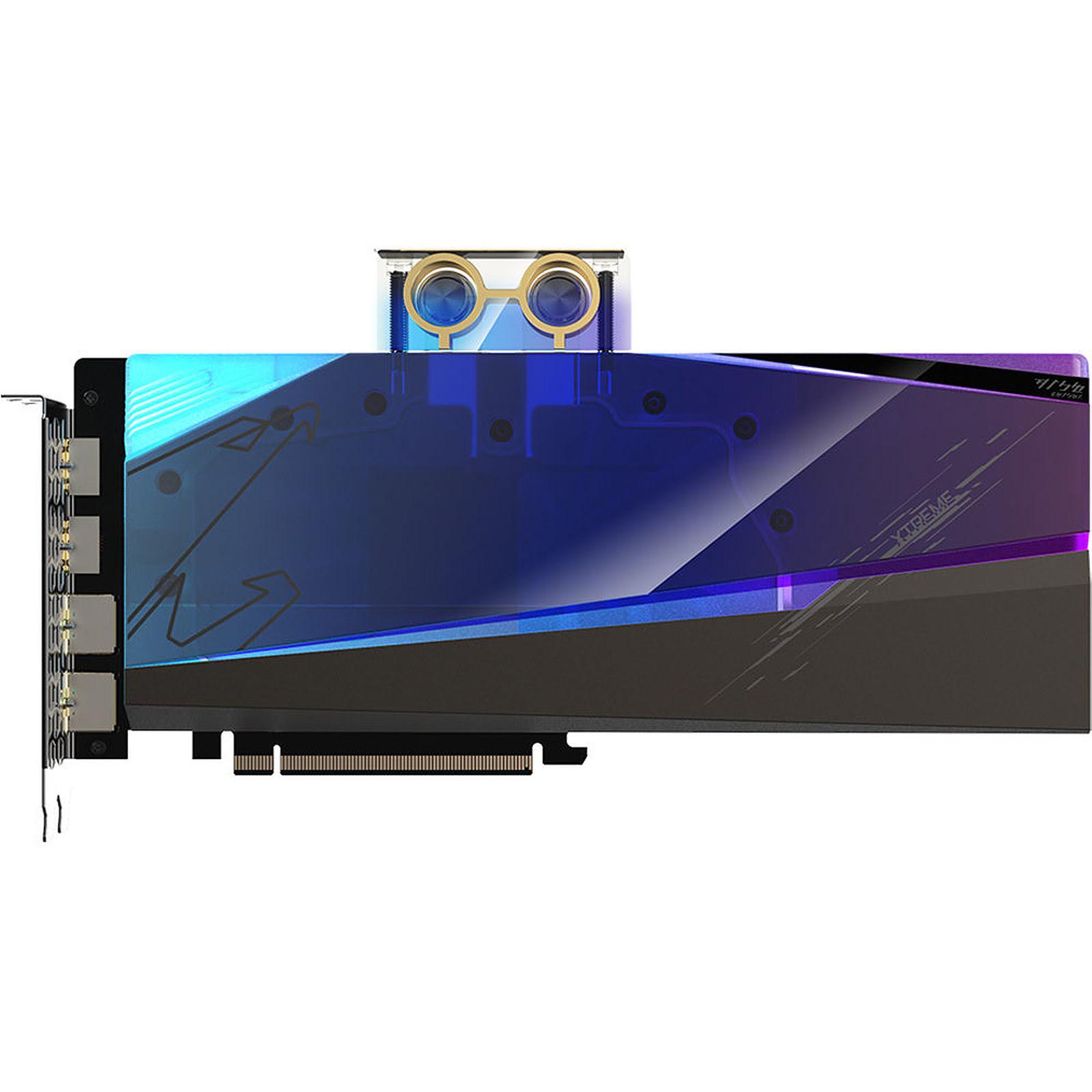 Gigabyte AORUS RX 6900 XT XTREME WATERFORCE WB 16G - Carte graphique - 3