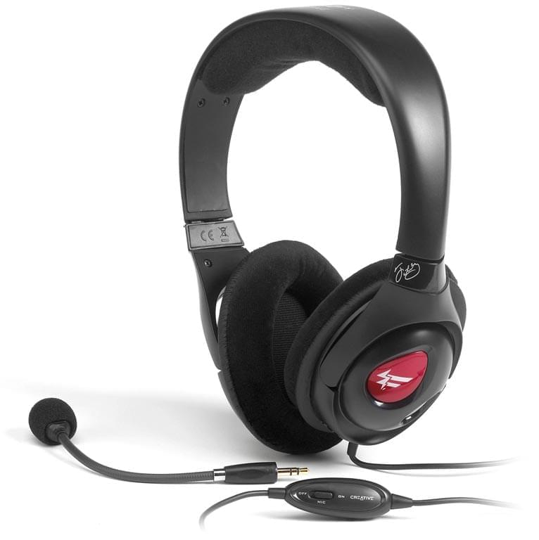 Creative Fatal1ty Gamer Headset HS800   - Micro-casque - 0