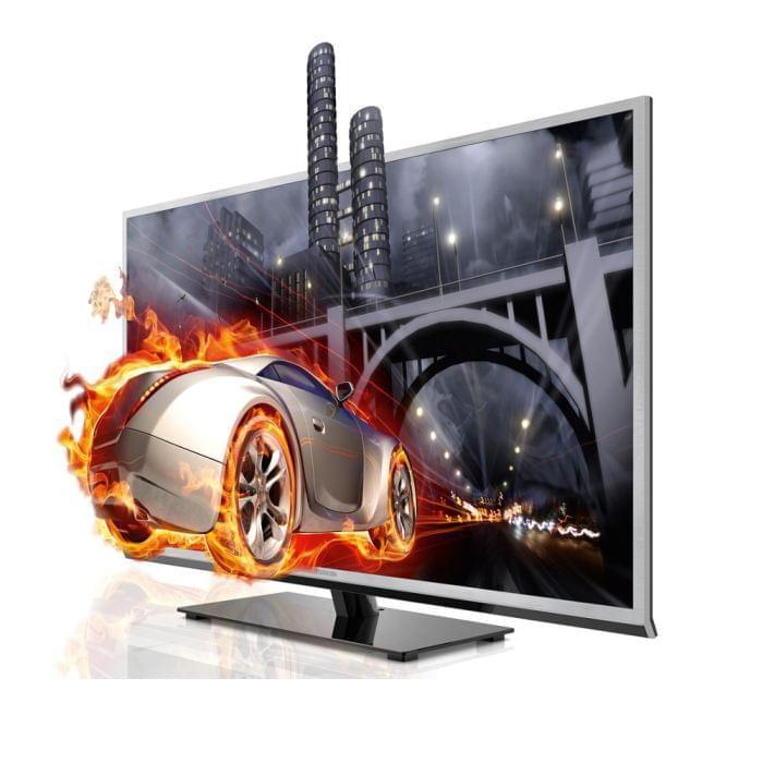Toshiba 46TL933F LED 3D (46TL933  soldé) - Achat / Vente TV sur Cybertek.fr - 0