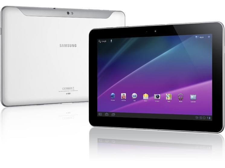 Samsung Galaxy Tab P7501 Blanc 3G - Achat / Vente Tablette tactile sur Cybertek.fr - 0