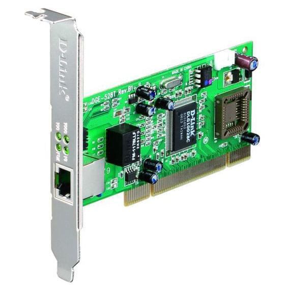 D-Link PCI 10/100/1000MB DGE-528T (DGE-528T) - Achat / Vente Carte Réseau sur Cybertek.fr - 0