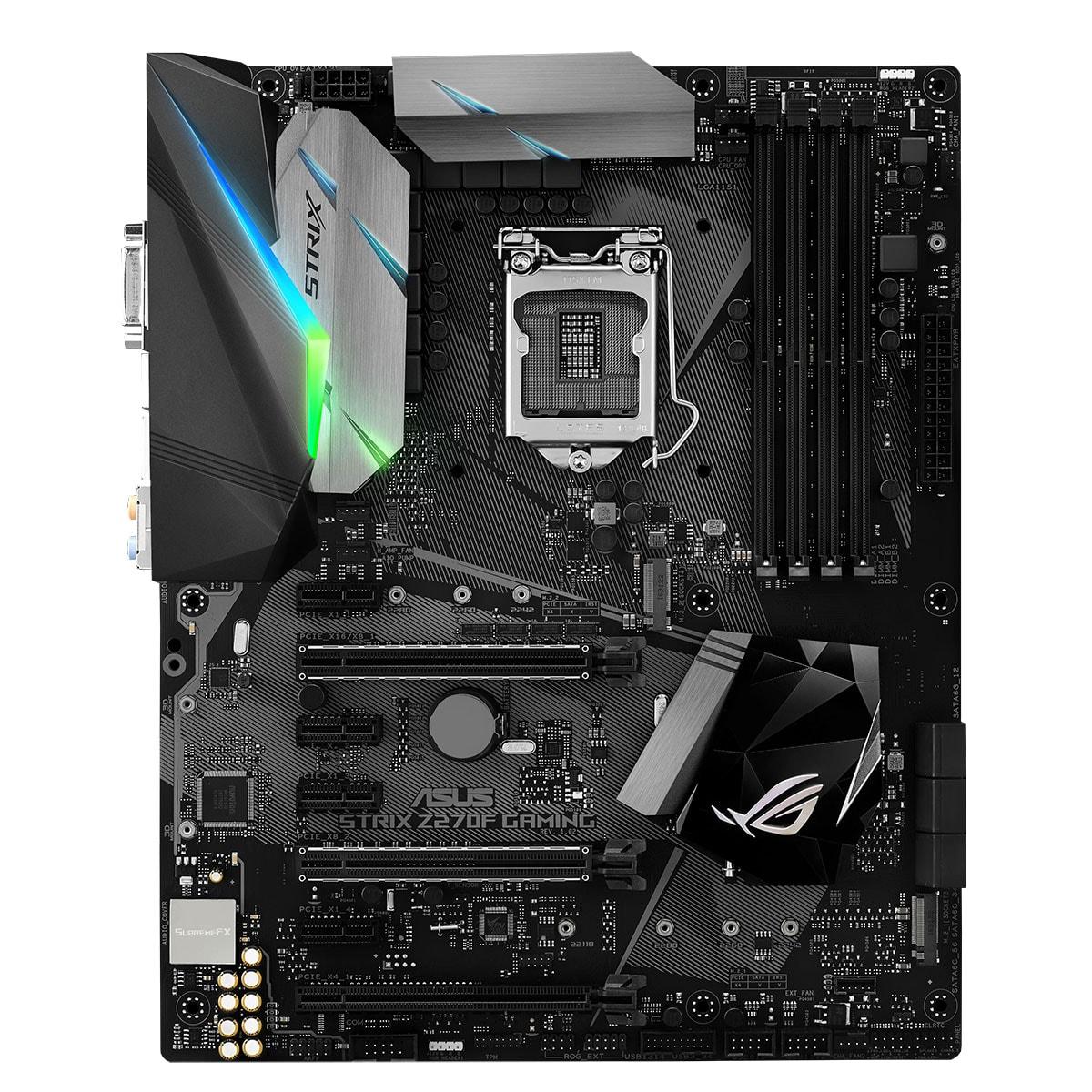 Asus STRIX Z270F Gaming ATX DDR4 - Carte mère Asus - Cybertek.fr - 2