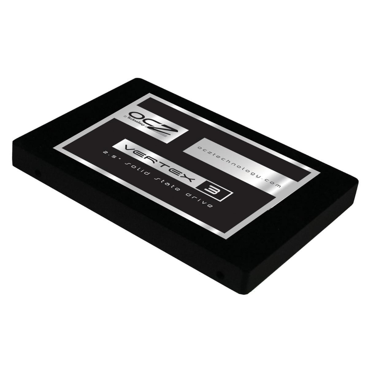OCZ 120Go SSD Vertex 3 VTX3-25SAT3-120G SATA 6 (VTX3-25SAT3-120G) - Achat / Vente Disque SSD sur Cybertek.fr - 0