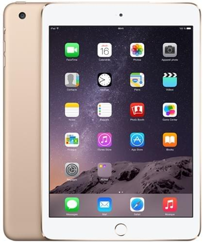 Apple iPad Mini 3 16Go Gold (3A136NF/A soldé) - Achat / Vente Tablette Tactile sur Cybertek.fr - 0