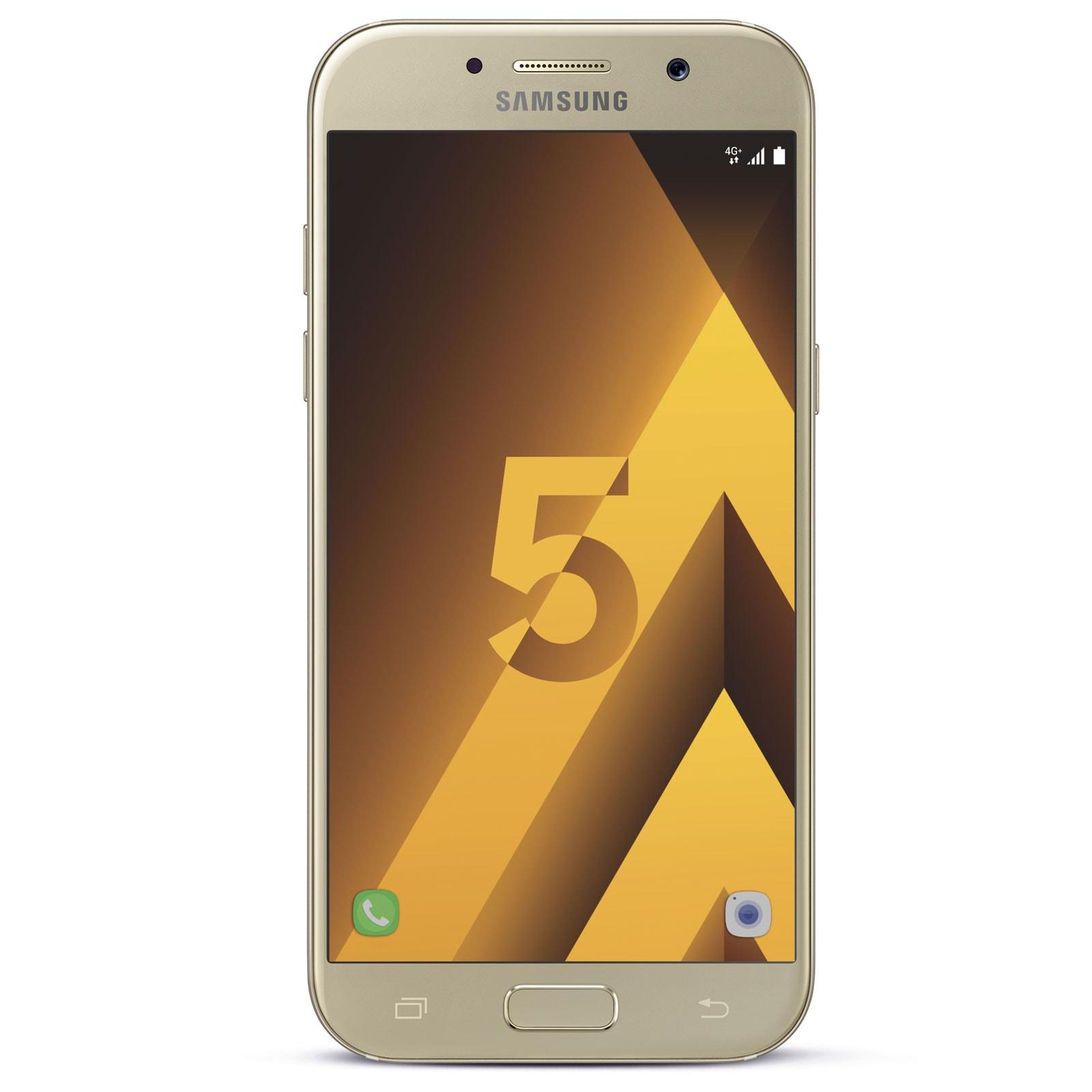 Samsung Galaxy A5 (2017) Or - Téléphonie Samsung - Cybertek.fr - 0