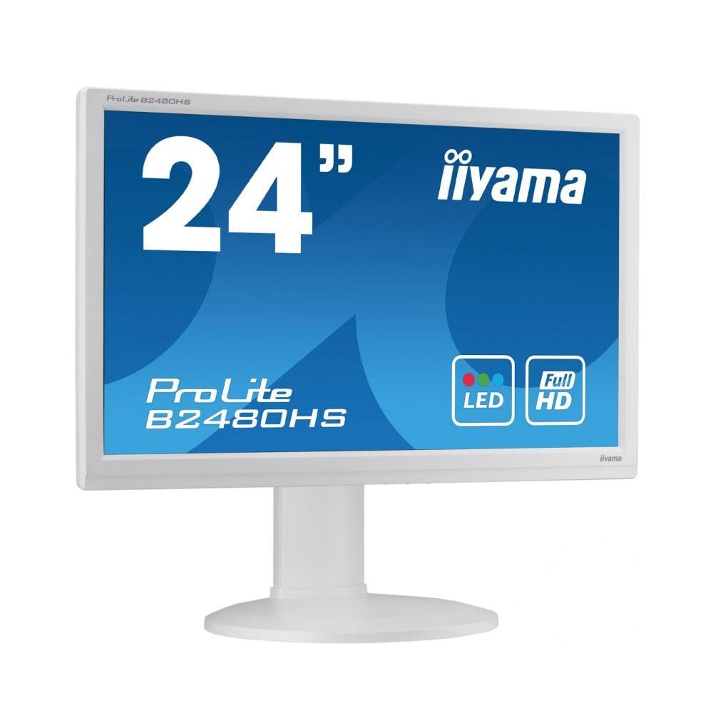 Iiyama B2480HS-W2 (B2480HS-W2 **) - Achat / Vente Ecran PC sur Cybertek.fr - 0