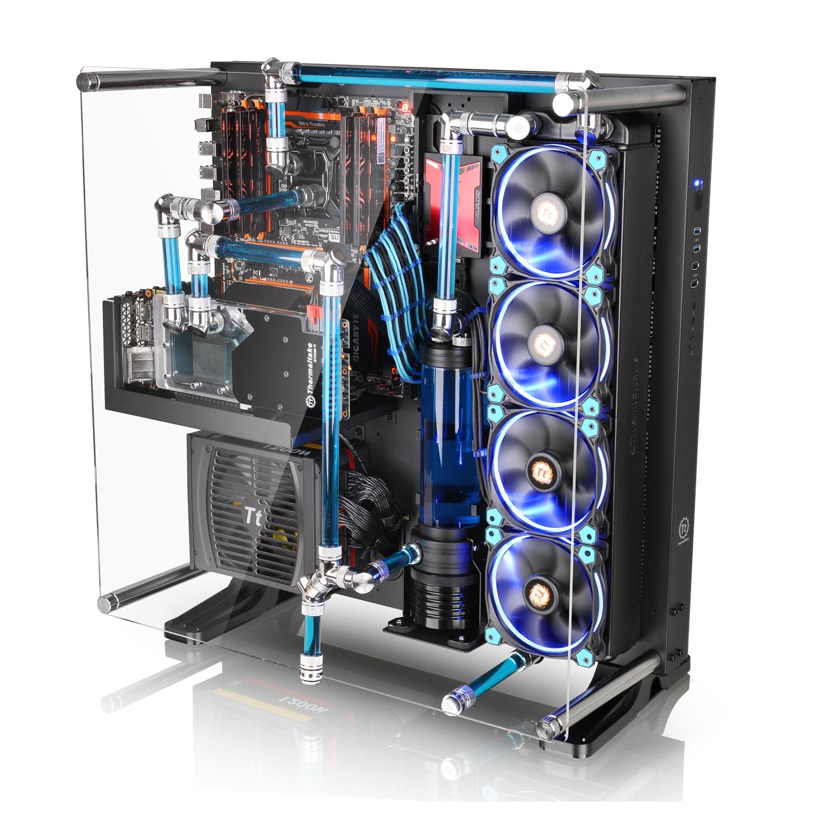 Thermaltake Core P5 (CA-1E7-00M1WN-00) - Achat / Vente Boîtier PC sur Cybertek.fr - 4