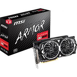 Carte graphique MSI RX 590 ARMOR 8G OC - RX590/8Go/DVI/DP/HDMI