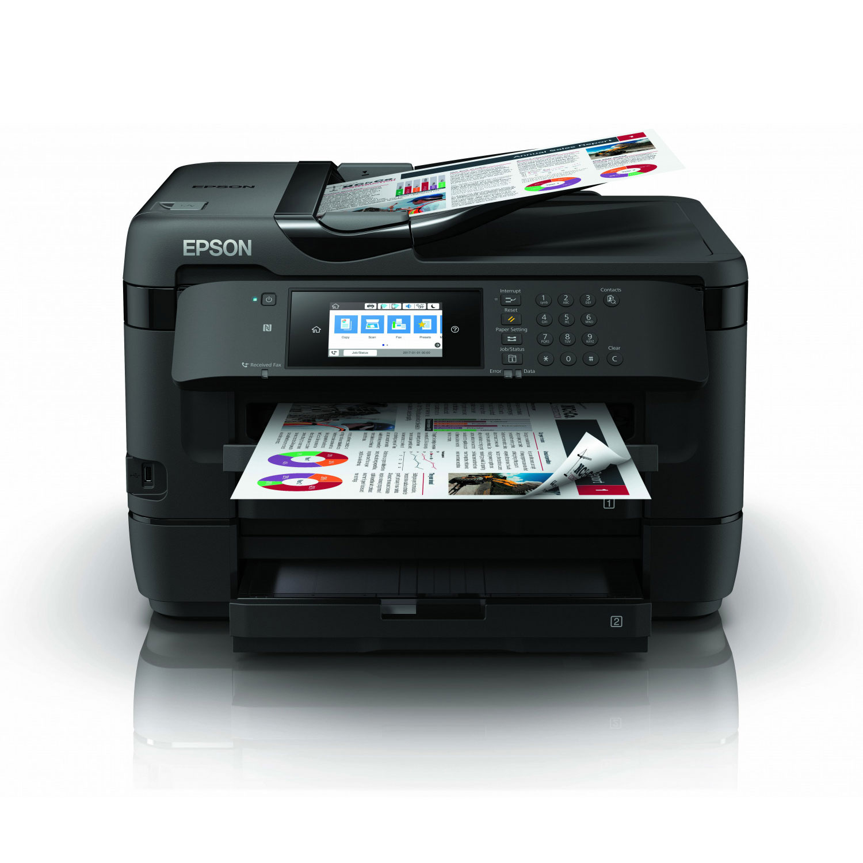 Imprimante multifonction Epson WorkForce WF-7720DTWF - A3 - 0
