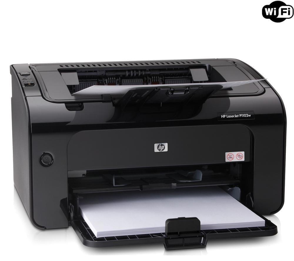 HP LaserJet Pro P1102W (CE658A#B19) - Achat / Vente Imprimante sur Cybertek.fr - 0