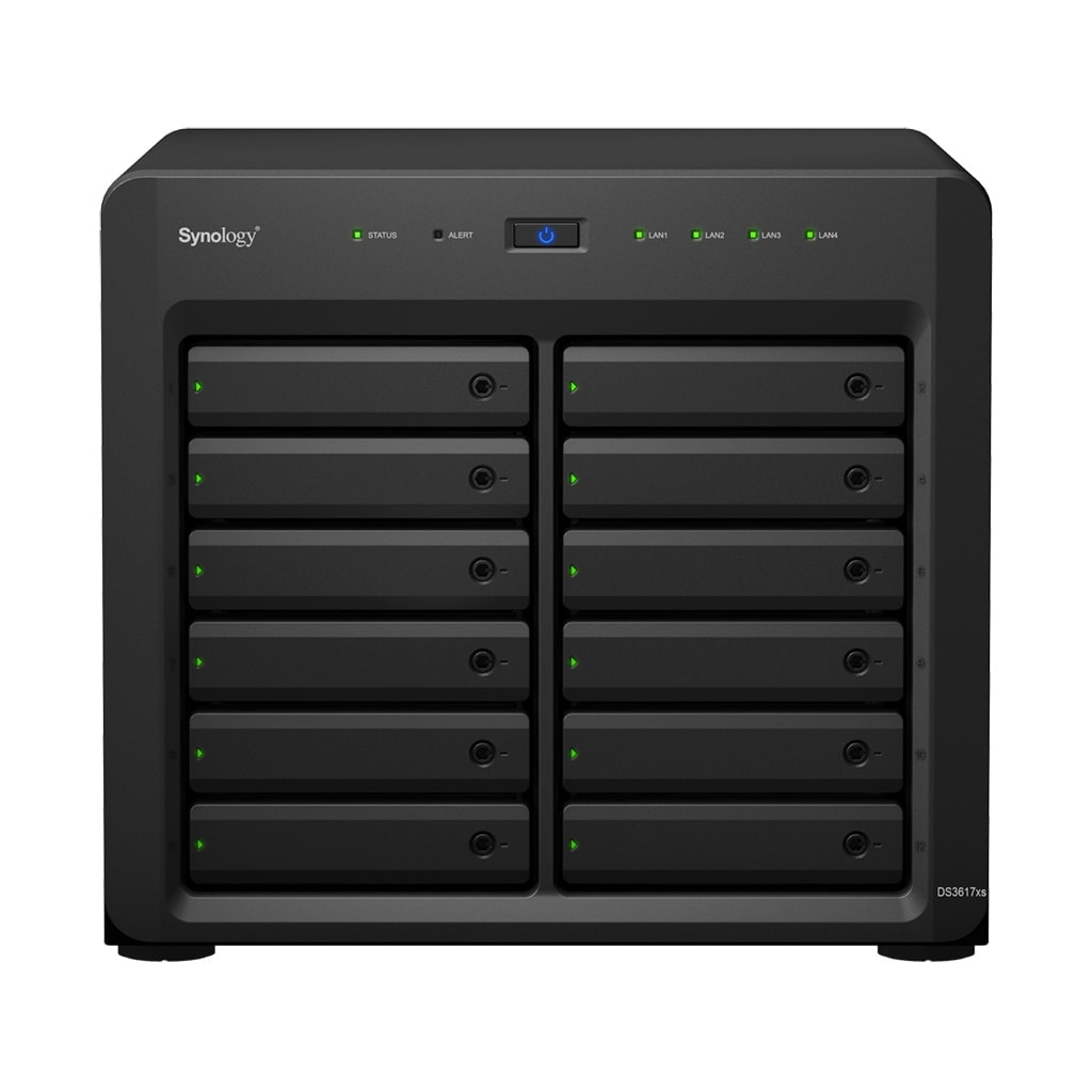 Synology DS3617xs - 12 HDD - Serveur NAS Synology - Cybertek.fr - 0