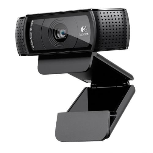 Logitech HD Pro WebCam C920 (960-000767) - Achat / Vente Caméra / Webcam sur Cybertek.fr - 0