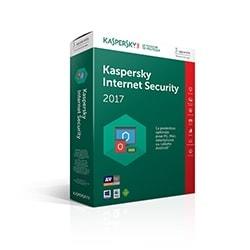 Kaspersky Logiciel sécurité Internet Security 2017 - 1 An / 3 PC Cybertek