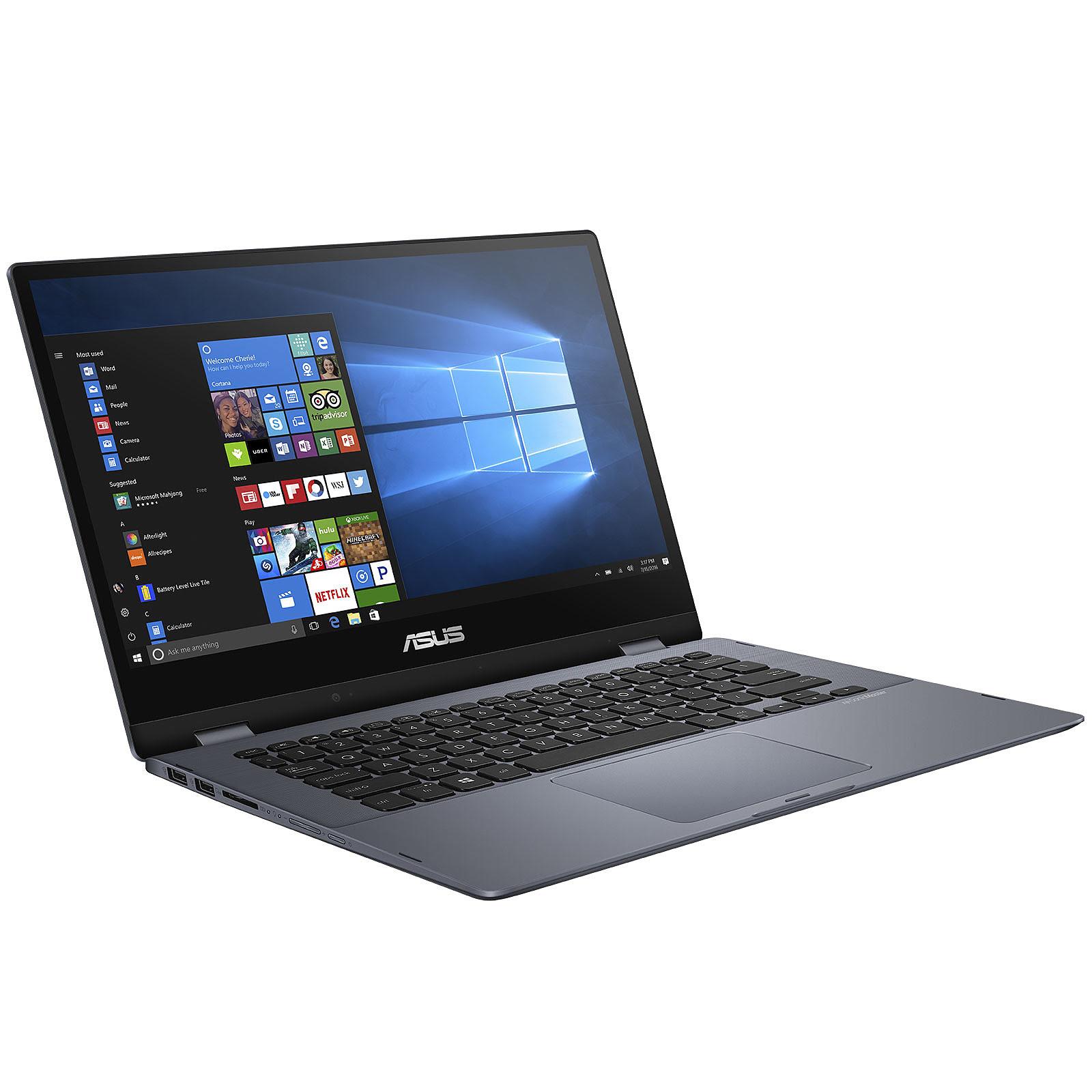 Asus VivoBook Flip TP412UA-EC244R (90NB0J71-M08150) - Achat / Vente PC portable sur Cybertek.fr - 4