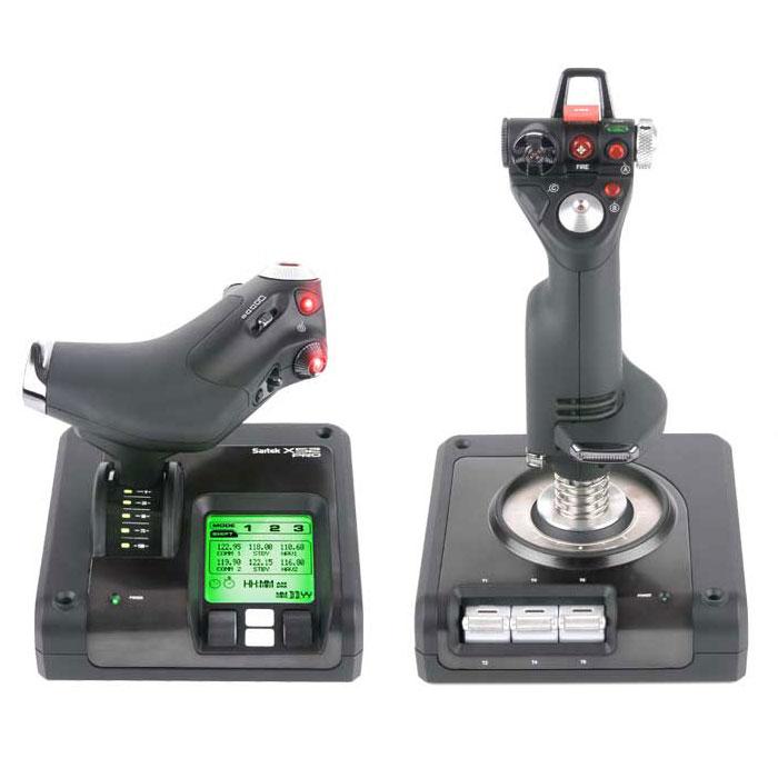 Logitech Saitek X52 PRO FLIGHT CONTROL - Périphérique de jeu - 4